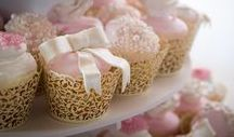 Cake & Cupcakes - Wedding / A photo collection of the wedding cake or wedding cupcakes.