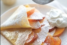 Bountiful Breakfasts / Breakfast recipes for one and recipes to serve more than one.