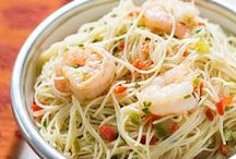 How I LOVE Pasta! / Favorite pasta recipes to serve one or to serve more than one.