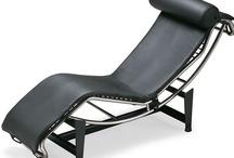 Lounge - Blue/Black - Wood/Steel
