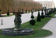 Formal Garden Spaces / Gardens with formal structure and design elements. / by Susan Cohan