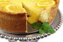 Lemon desserts and dishes / Recipes made with lemons.