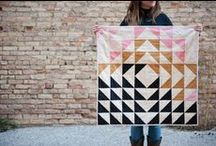 Grandma M makes quilts
