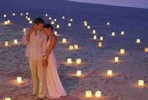 """Beach Wedding / Deep your toes into the warm sand and say """"I DO!"""""""