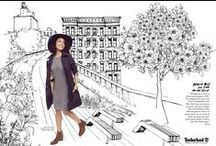Timberland x Marie Claire / We teamed up with Marie Claire and style blogger Erica Lavelanet to bring the Modern Trail to life through the latest coloring book craze. See her must-haves for spring and color your way through Erica's NYC journey - just save and print the 3 illustrated pages below! / by Timberland