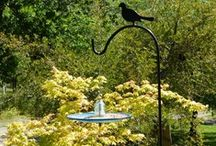 For the Patio / Railroadware upcycled industrial products for the patio. trafficlight lenses, insulators, birdfeeders, platters, bowls, lights,