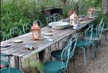 garden dining love