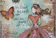 Canvas ideas / by Wanda Contreras Pagan