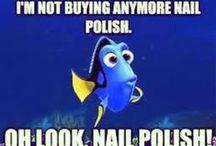 Nail Polish / I have a massive nail polish addiction, so these are the nail polishes on my wishlist :)