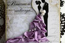 Cards- Wedding / by Wanda Contreras Pagan