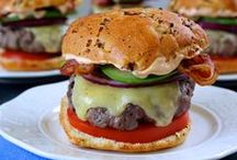 Burgerlicious / Here's some tasty and unique burger recipes from Rachael Ray. You're sure to love them, including a few vegetarian options.
