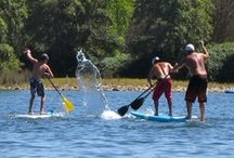 """SUP Sports / """"A DAY at the BEACH"""" Lake Natoma  Folsom ,CA  August 25, 2012"""