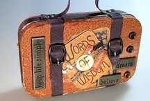 Altered Art Tins, Boxes, Jars and Bottles / by Elizabeth Astin