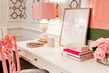 Home Office / Studio, Craft Space, Home Office, Interior Design for Dens, Offices, and Glamorous Work Spaces