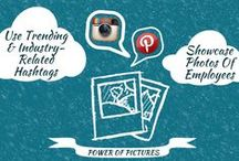 The Social Network / Infographics and tips and tricks for mastering the world of social media.