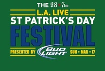 St. Patrick's Day / Our favorite St. Patrick's Day images to prepare us for our St. Patrick's Day Festival at L.A. LIVE, March 17th!