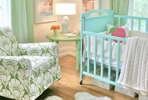 Nursery Design  / Baby Rooms - Furniture: cribs, rockers, gliders, recliners, poufs, and ideas for my twins