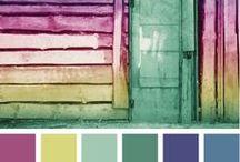 Design: Color Palette Inspiration / Inspirational color palettes for future design work.