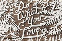 Design: Typography / Some cool typography design for inspiration.