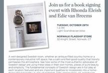 Book Signing Events / Please join us November 29th from 1-3pm at Lillian August Flagship store in Norwalk, CT for a book signing and some Swedish nibbles.