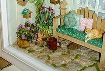 Dollhouses and miniatures / by Elizabeth Astin