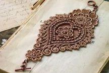 koronka irlandzka - snutkowy - irish lace