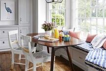 Breakfast Rooms & Banquettes / BREAKFAST ROOMS & CUSTOM BANQUETTES I LOVE / by Lisa Mende Design = Interior Design