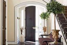 Make An Entrance / The best foyers on Pinterest!