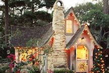 A {Country Cottage} by the Woods / Country and English Cottages / by Melissa Willman