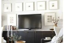 Media Rooms / GREAT LOOKING MEDIA ROOMS  / by Lisa Mende Design = Interior Design