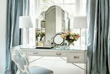 CLOSETS & DRESSING ROOMS / BEAUTIFUL CLOSETS & DRESSING AREAS / by Lisa Mende Design = Interior Design