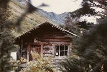 A {Cozy Cabin} in the Mountains / by Melissa Willman