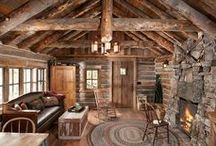 A {Cozy} Cabin - {Beyond the Doors} / {Beyond the Doors} / by Melissa Willman