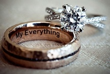 Engagement rigs/ wedding rings ♥