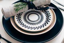 Tá na mesa / Mesa posta com estilo faz toda a diferença pra receber bem!  / by Ana Paula Buttelli