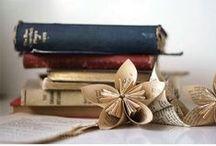 DIY -  Any Last {Words} / Vintage Book Crafts / by Melissa Willman