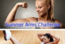 Exercise for Upper Arm / Loose upper arms / by Cindy Larkin