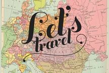 Petits voyages // Travel / Travel / World / Discover / Places / City / Maps