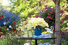Garden ideas / I dream gardens and these images help to inspire my dreams / by Donna Lewis