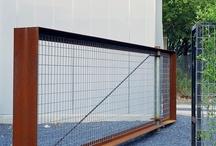 boundary's perimeters fences gates  / by .seanc.