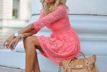 Pretty and Pink / by Rachel Stevens