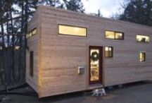 Tiny Houses / Small living spaces / by Etta Worthington
