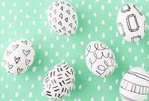 Petites fêtes : Pâques // Easter / Easter / Egg / Rabbit / DIY