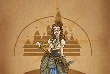 Altered Disney - MecaniqueFairy