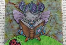 Craftiness Wicked Wednesday / Wicked Wednesday is a weekly atc challenge blog, with wonderful sponsors. http://wickedwednesdayatc.blogspot.ca/