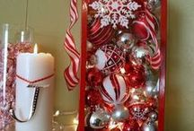 Christmas: Red Glitz / by Jill Kate Vandeventer