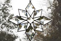 A Winter Holiday Home / White. Glass. / by Home Decor