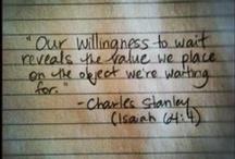 Words / by Chelsea Holbert