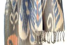 Ikat / ikat textile techniques and handmade accessories from ikat.