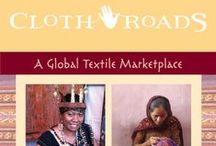 ClothRoads Pop-Up Shops, Trunk Shows / ClothRoads is looking for good venues for pop-up shops, and trunk shows. Here's an example of what you might experience when ClothRoads hits the road with a trunk of one-of-a-kind textiles.